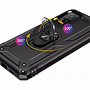 Чехол Serge Ring for Magnet Xiaomi Mi 10T / Mi 10T Pro Black (Код товара:16519) Харків