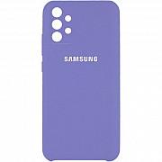 Silicone Case Full Camera для Samsung A32 Elegant Purple (Код товара:16822) Харків