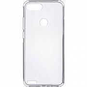 Чехол силиконовый для Tecno Pop 2F прозрачный (Код товара:17900) Харків
