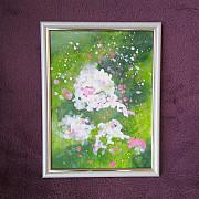 *Handmade* Картина акрилом * Весна* Запоріжжя