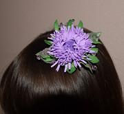 *Handmade* Заколка для волос *Астра*2 Запоріжжя