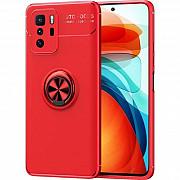 Чехол Deen ColorRing для Xiaomi Redmi Note 10 5G/Poco M3 Pro Red (Код товара:17896) Харків