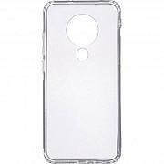 Чехол силиконовый для Tecno Spark 6 прозрачный (Код товара:17902) Харків