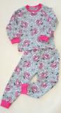 Тонкая трикотажная пижама для девочки Миколаїв