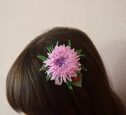 *Handmade* Заколка для волос *Астра* Запоріжжя