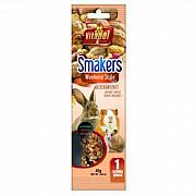 Колба Vitapol Smakers Box для грызунов со вкусом мёда, 45 г, 1 шт Київ