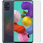 Защитная гидрогелевая матовая пленка DM для Samsung A51 (Код товара:18778) Харків
