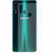 Задняя защитная гидрогелевая пленка DM для Samsung A20S (Код товара:18768) Харків