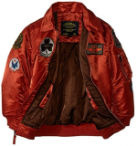 Дитяча куртка Boys maverick jacket alpha industries (rust) Одеса