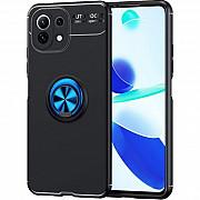 Чехол Deen ColorRing для Xiaomi Mi 11 Lite Black/Blue (Код товара:17887) Харків