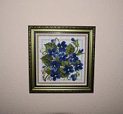 Картина алмазная мозаика *Букетик с фиалками* Запоріжжя