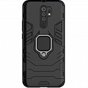 Чехол Xiaomi Redmi 9 Transformer Ring Black (Код товара:13731) Харків
