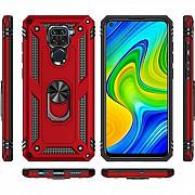 Чехол Serge Ring for Magnet для Xiaomi Redmi Note 9 Red (Код товара:18208) Харків