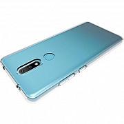 Чехол силиконовый для Nokia 2.4 прозрачный (Код товара:15777) Харків
