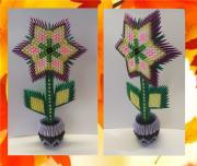 Цветок из модульного оригами Миколаїв