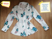 Одежда, штаны, блузи, кофта, юбкана девочку 10-12 лет Київ