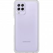 Чехол силиконовый для Samsung A22 4G прозрачный (Код товара:17897) Харків