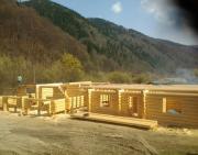 Деревянные дома и бани с дикого сруба Тячів