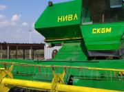 Комбайн Нива СК5м после реставрации Запоріжжя