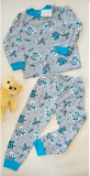 Тонкая трикотажная пижама для мальчика Миколаїв