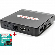 ТВ-приставка inext SWEET.TV BOX Ultra HD + Стартовый пакет M на 1 месяц (Код товара:18693) Харків