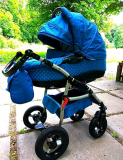 Дитяча коляска 3 в 1 Шпола