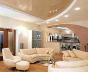 Натяжные потолки любой сложности от студии ADELE Запоріжжя