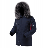 Куртка чоловіча Snorkel Parka Airboss, blue Київ