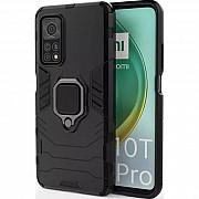 Чехол Transformer Ring for Magnet для Xiaomi Mi 10T/Mi 10T Pro Soul Black (Код товара:18582) Харків