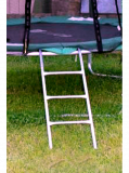 Батут 252 см с защитной сеткой и лестницей Ізюм