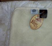 Нове двоспальне ковдра -покривало з руна мериносових овець Луцьк