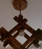 Люстра лофт з дерева під замовлення Львів