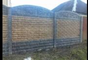 Глянцеві кольорові і сірі єврозабори, ворота, хвіртки, огорожі, пам'ятники, з гарантією і якість Харків