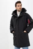 Чоловіча куртка парка N-5B Tardis Airboss (чорна) Рівне