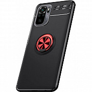 Чехол Deen Color Ring для Xiaomi Redmi Note 10/Note 10s Black/Red (Код товара:19004) Харків