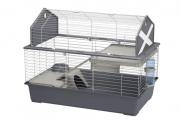 Ferplast BARN 80 продуманная и укомплектованная двухэтажная клетка для кролика и средних грызунов Київ