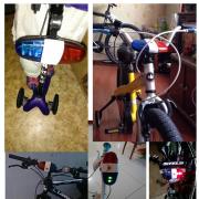 Полицейская сирена мигалка, на велосипед, беговел, полицейская сирена, полицейская мигалка, мигалка. Харків