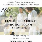 Семейный адвокат по вопросам алиментов Харьков Харків