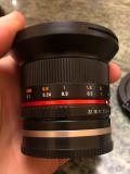 Продам обєктив samyang 12mm 1:2, 0 N C S. CS E Чернівці