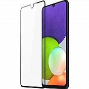 Защитное стекло для Samsung A22 4G Black (Код товара:17884) Харків