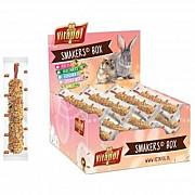 Колба Vitapol Smakers Box для шиншилл, со вкусом кокоса и лепестков роз, упаковка 12 шт Київ