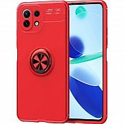Чехол Deen ColorRing для Xiaomi Mi 11 Lite Red (Код товара:17891) Харків