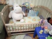 Кроватка детская деревянная Запоріжжя