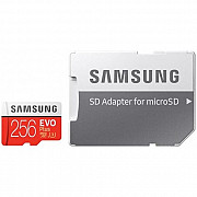 Карта памяти Samsung MicroSDXC 256GB Class 10 + Ad EVO PLUS V2 (MB-MC256HA/RU) R/W 100/90 Mb/s (Код  Харків