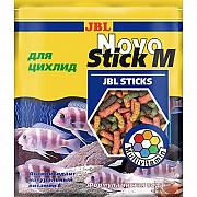 Основной корм JBL NovoStick M в форме палочек для хищных цихлид, 50 мл Київ