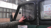 Уаз 469 Хантер скло бокове розсувне склоблок Шпола