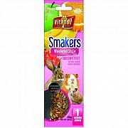 Колба Vitapol Smakers Box для грызунов со вкусом фруктов, 45 г, 1 шт Київ